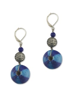 Blue Ferris Wheel Earrings - Eesha Zaveri; Jewellery By Design