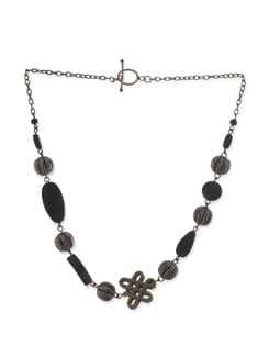 Black And White Bead Necklace - Eesha Zaveri; Jewellery By Design