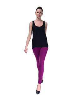 Violet Color Leggings - FUTURO