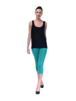 Blue Capri Tights - FUTURO