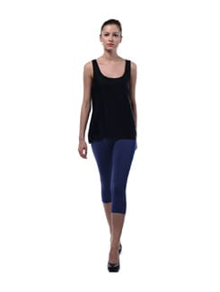 Bright Blue Capri Tights - FUTURO