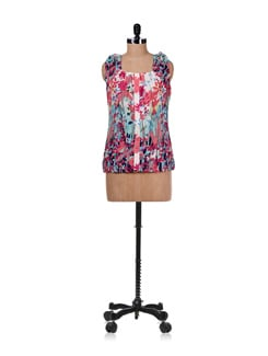 Floral Printed Top - Ayaany