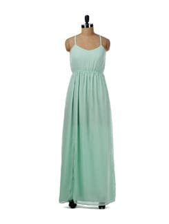 Mint Green Maxi Dress - Femella