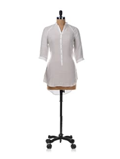White Shirt Tunic - Femella