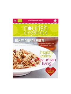 Honey Crunch Muesli - Nourish Organics 1738