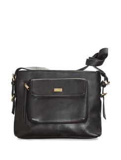 Dark Brown Sling Bag - YELLOE