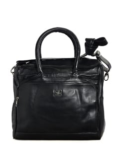 Black Weekender Bag - YELLOE