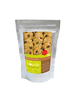 Brown Rice Cookies - Nourish Organics