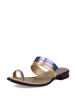 Stylish Blue-pink Sandals - La Briza