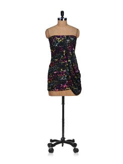 Multicoloured Animal Print Party Dress - SPECIES
