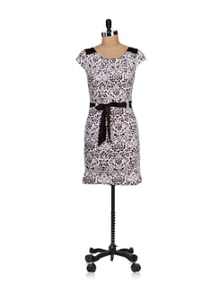 Breezy Off-white & Brown Floral Dress - SPECIES