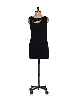 Embellished Little Black Dress - SPECIES