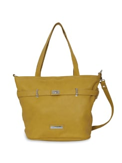 Stylish Yellow Bag - Lino Perros