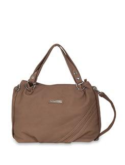 Beige Slouchy Handbag - Lino Perros