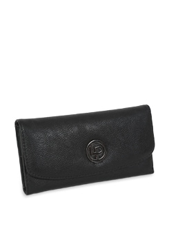 Black Sleek Wallet - Lino Perros