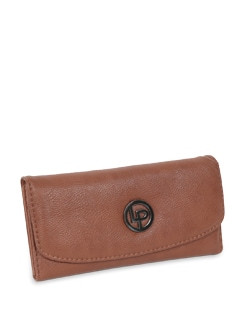 Brown Sleek Wallet - Lino Perros