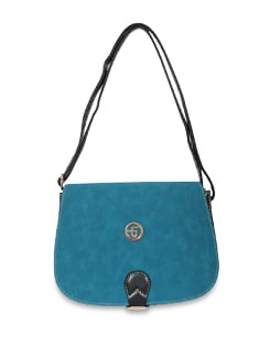 Blue And Black Sling Bag - Lino Perros