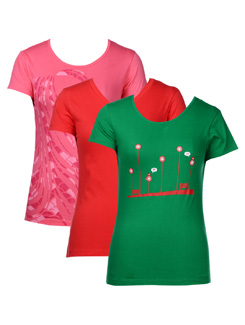 Casual summer tees- pack of 3 - STYLE QUOTIENT BY NOI