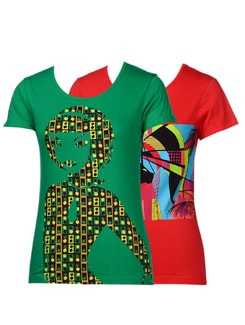 Trendy tees-pack of 2 - STYLE QUOTIENT BY NOI