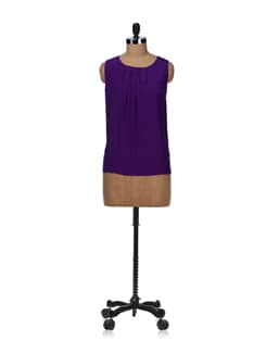 Stylish Purple Top - Besiva