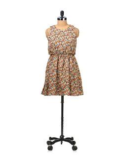 Multi Print Dress - Besiva