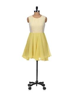 Summer Pick Up- Yellow Dress - Besiva