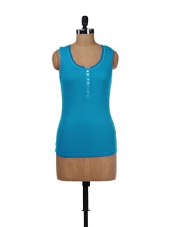 Bright Blue Tank Top - Evolution