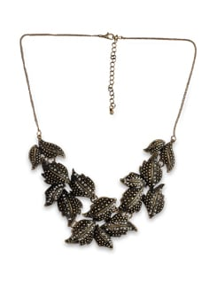 Autumn Leaf Necklace - THE PARI