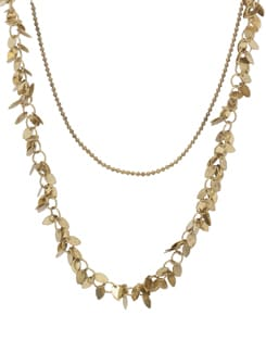 Trendsetting Gold Necklace - THE PARI