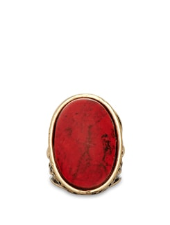 Antique Red Ring - THE PARI