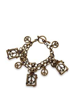 Peace Charm Bracelet - THE PARI
