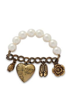 Pretty Princess Pearl Bracelet - THE PARI
