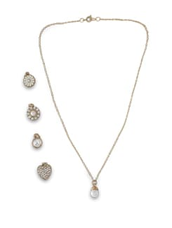 Five Pendant Necklace - THE PARI