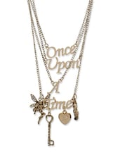 Fairytale multi chain necklace -  online shopping for Necklaces