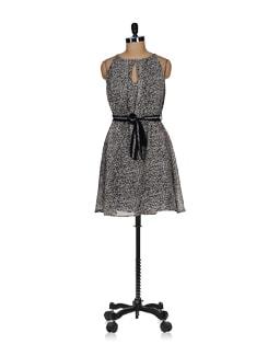 Trendy Animal Print Dress - Tops And Tunics