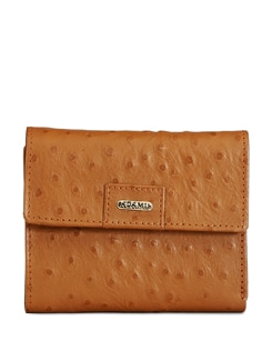 Compact Tan Brown Wallet - ADAMIS