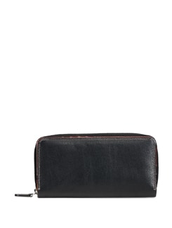 Black Leather Wallet - ADAMIS