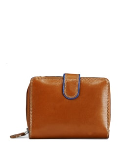 Tan Brown Card Holder Wallet - ADAMIS