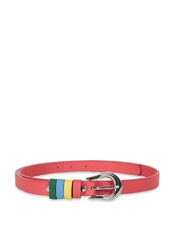 Coral Multi Colourloop Belt - M TV