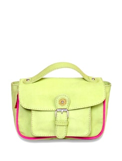 Charming Green Sling Bag - Brune