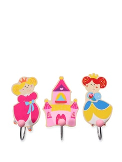 Princess Maya Wall Hooks - Set Of 3 - Vividha