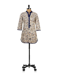 Painted Florals Tunic - Ayaany