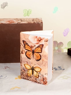 Butterfly Notebook - TREASURE  HUNT
