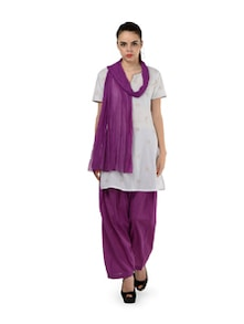Grape Patiala Salwar With Dupatta - MY COLORS