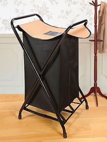 Black Stylish Laundry Bag