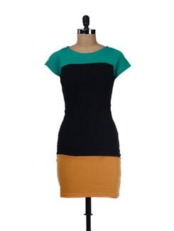 Three Tone Dress - GRITSTONES