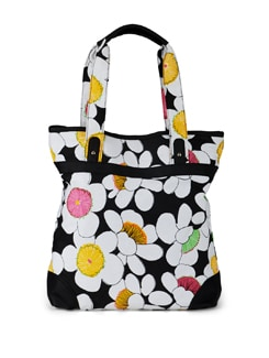 Multicoloured Floral Large Shopper - SUNNY ACCESSORY