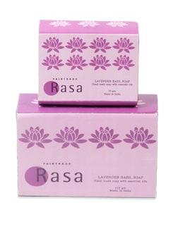 Lavender And Basil Soap - Rasa