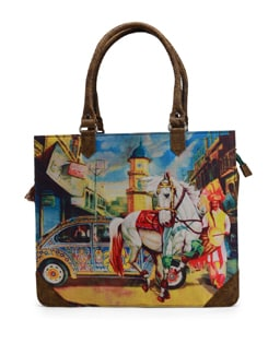 City Print Portfolio Bag - The House Of Tara