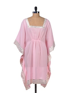 Baby Pink Kaftan Top - Tops And Tunics